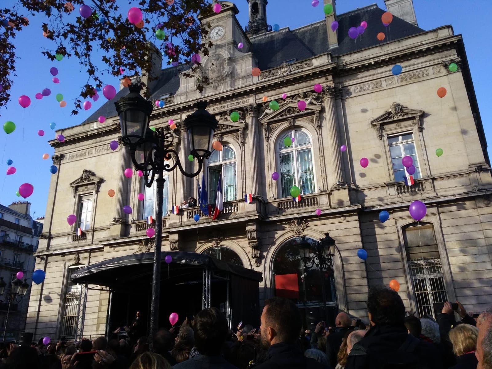 Cérémonie d'hommage de Life for Paris le 13 novembre 2018